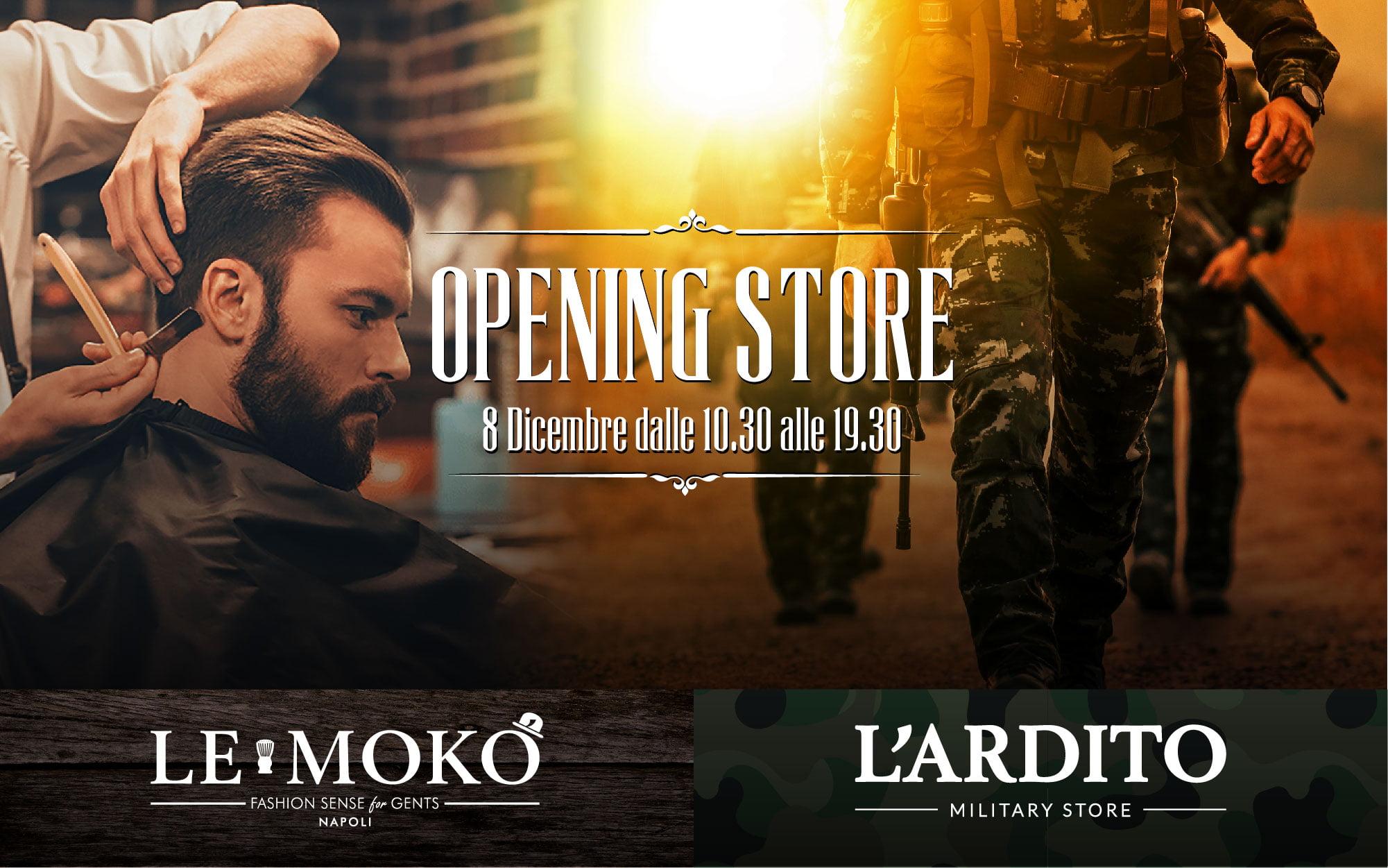 Il giorno 8 Dicembre siete tutti invitati all open dei 2 nuovi concept  store targati Mestieri e Divise 6b129e2b1866